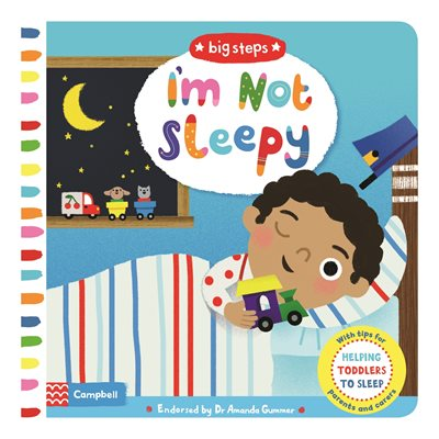 Book cover for I'm Not Sleepy